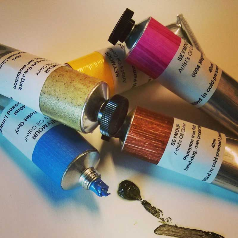 Artists Oil Colours - 150ml